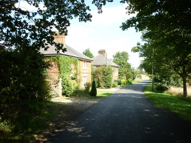 Grange Cottages on Kidhill Lane