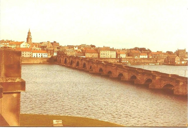 The Old Bridge, Berwick-Upon-Tweed in 1984
