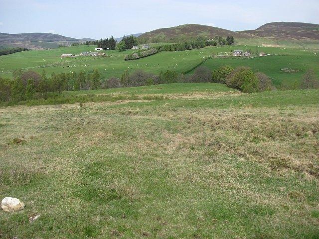 Rough grazing, Glen Fender