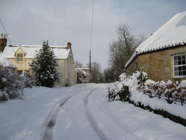 November snow in Horndean