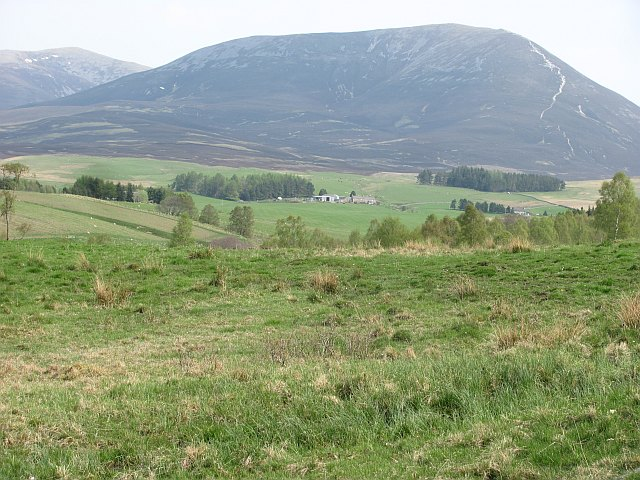 Glen Fender and Beinn a' Ghlo