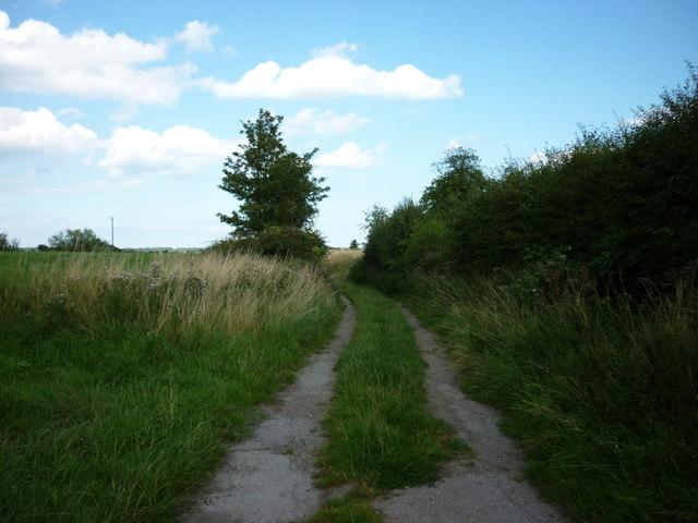 A bridleway to Folly Lane