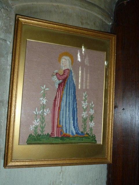 Odiham, All Saints: tapestry