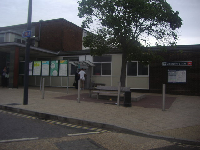 South entrance to Chichester station