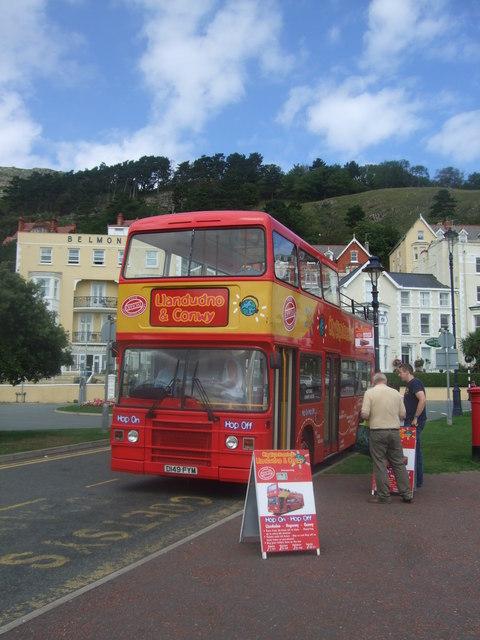 Llandudno and Conwy Open Top Bus