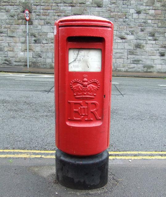 Pillar box on St Luke's Road