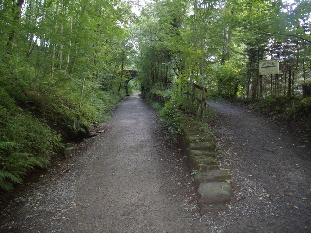 Keswick Railway footpath at Low Briery