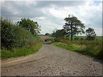 TA1345 : The way to Field House Farm, Catwick by Ian S