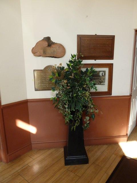 Inside Crondall Village Hall