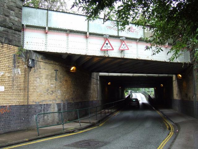 Railway bridges on St Luke's Road