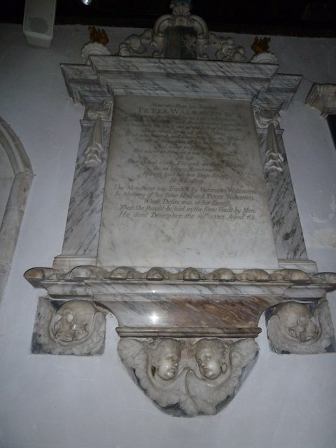 All Saints, Crondall: memorial (1)