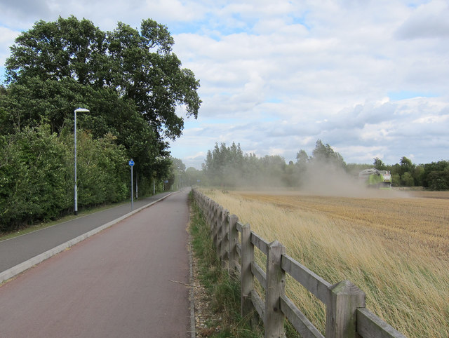 Harvesting by Coton cyclepath