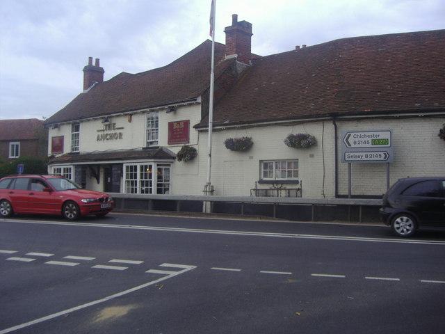 The Anchor pub, Street End