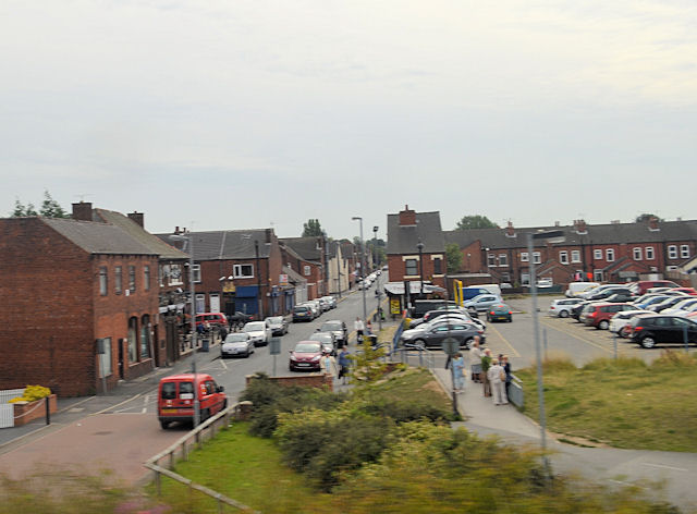 Vickers Street and car park