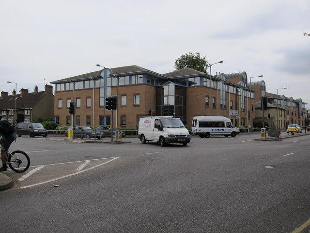End of Huntingdon Road