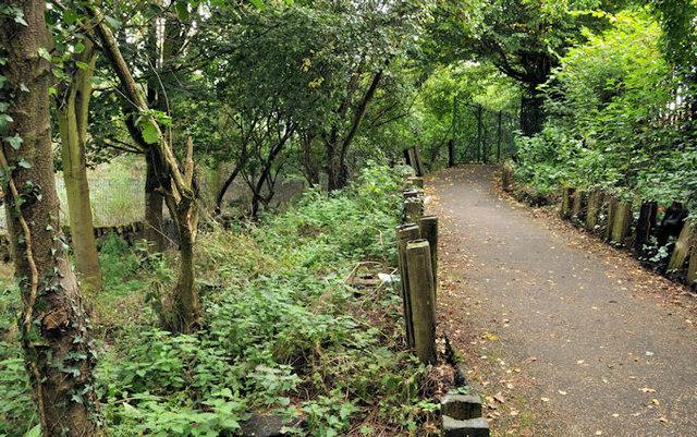 Connswater path, Belfast