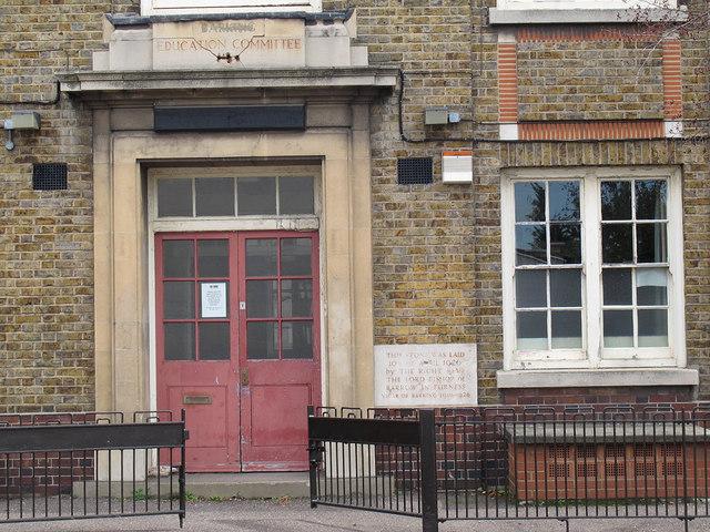 Entrance to Eastbury Comprehensive School