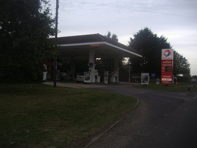 Total garage on Selsey Road, Sidlesham