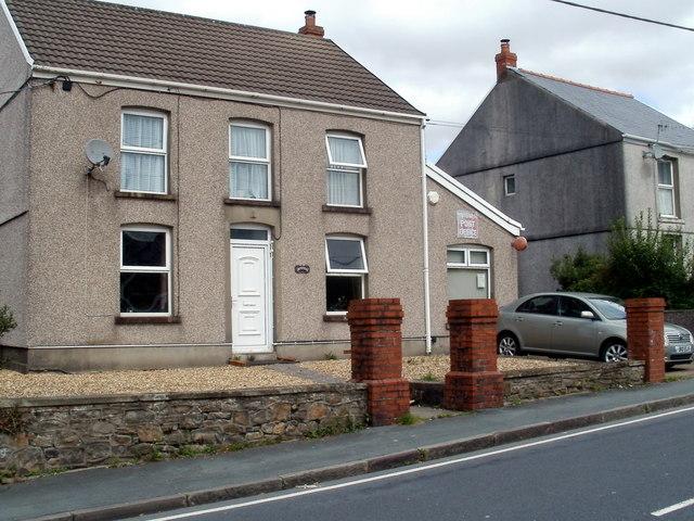 Tiny post office, Ynyswen, Powys