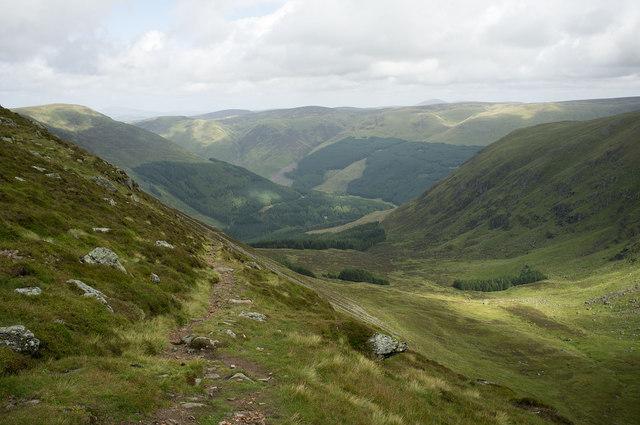 Path above Corrie Kilbo