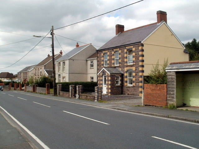 Brecon Road houses, Ynyswen