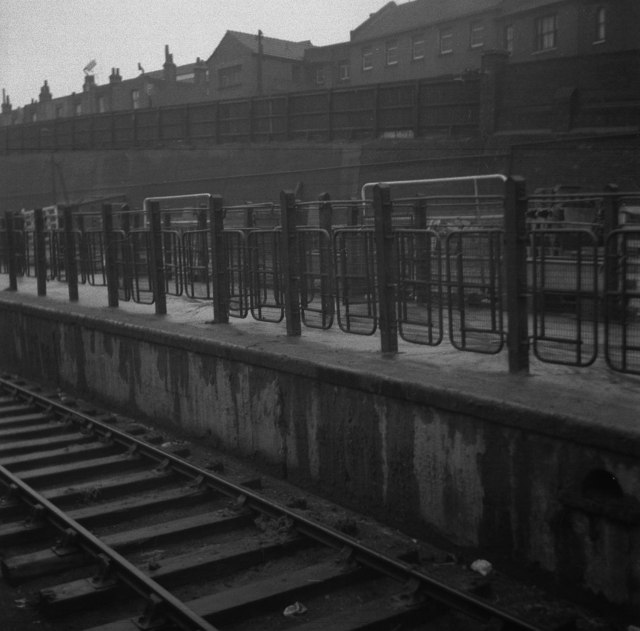 Woolwich Arsenal Station - 1959 - Cattle Pens