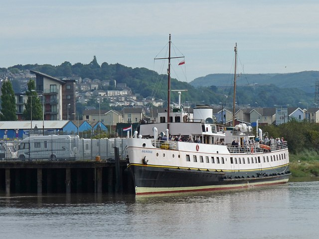 MV Balmoral on the River Usk [2]