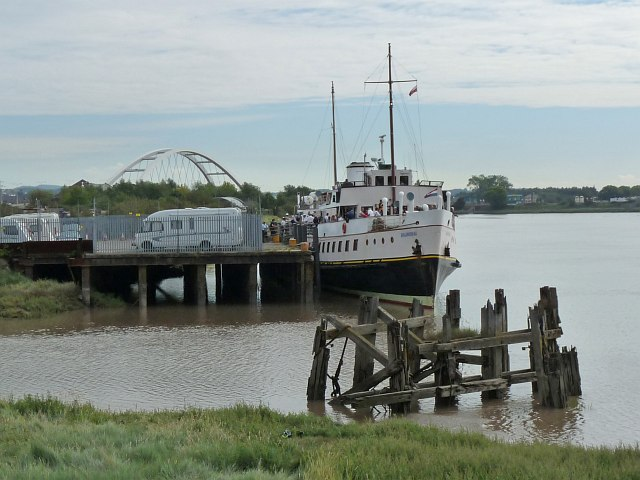MV Balmoral on the River Usk [3]