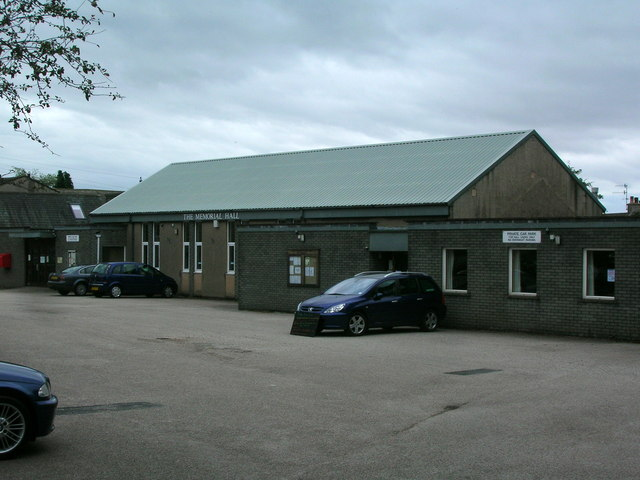 Memorial Hall, Burton-in-Kendal