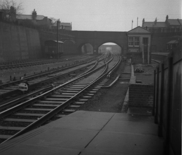 A view to Plumstead in 1959