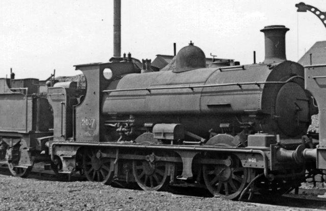 Ancient GW Saddle Tank on the 'Dump' at Swindon Works