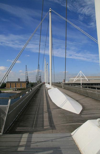 Foot bridge - Royal Victoria Dock
