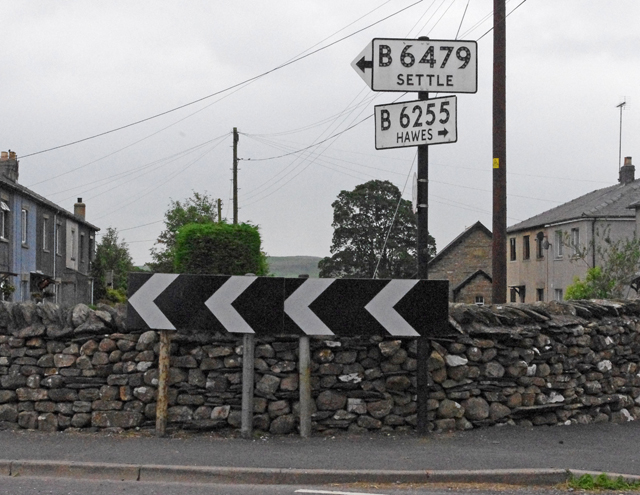 Old road signs, B6479, Horton in Ribblesdale