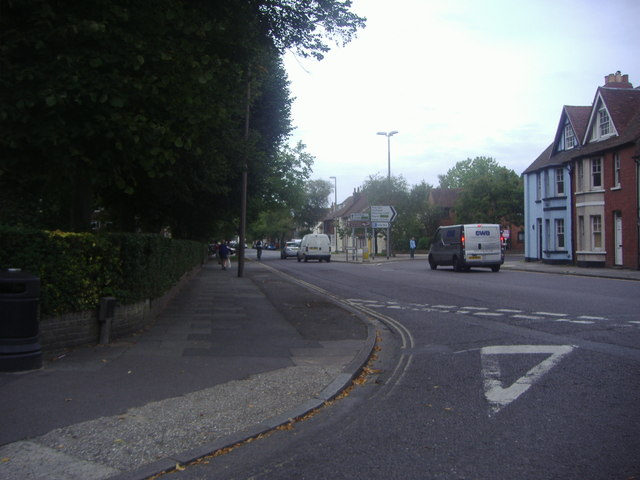 St Pancras at junction of New Park Road