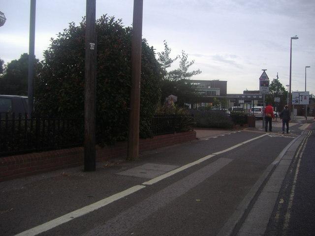 Stockbridge Road by Chichester station