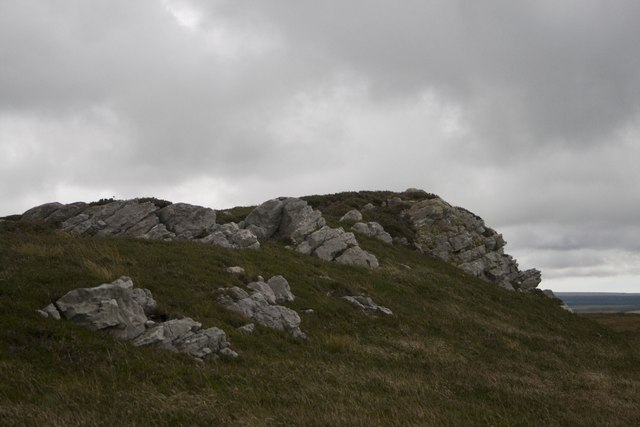 Summit of Beinn Ghibeach, Islay