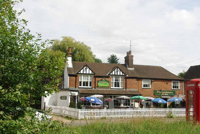 The Cricketers, at Mill Green