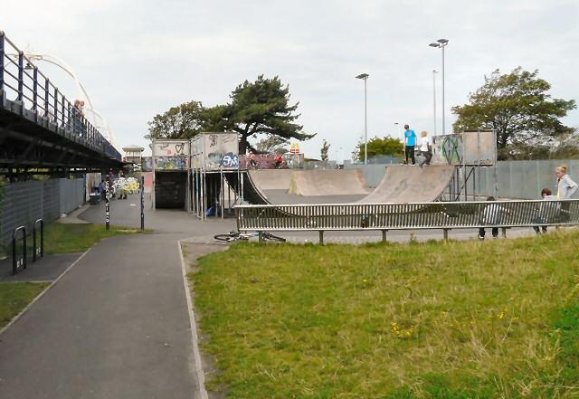 Southport skateboarding park