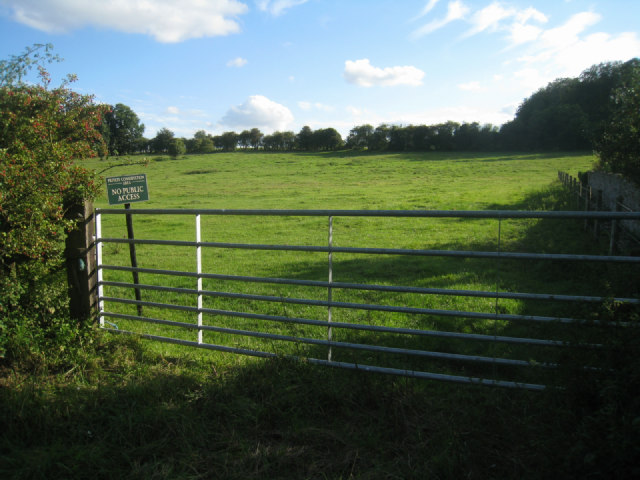 No public access - Steventon