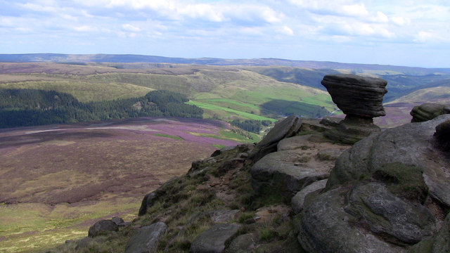 Fairbrook Naze and the Woodlands Valley