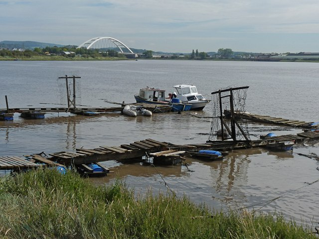 Moorings on the River Usk [3]