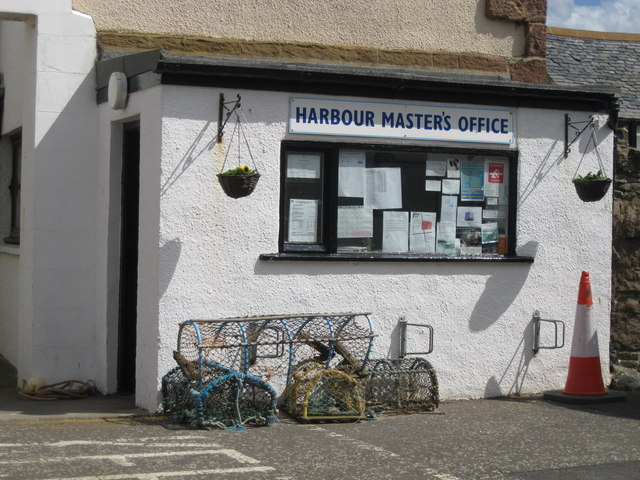 Harbour Master's Office, North Berwick