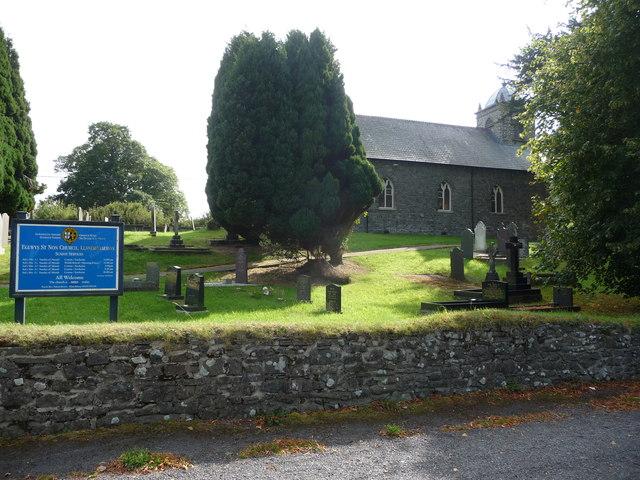 Eglwys St. Non, Llanerchaeron