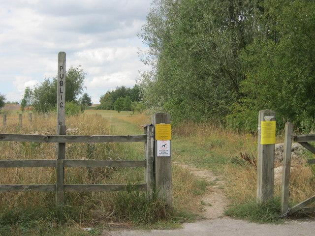 Footpath in Grassmoor Country Park