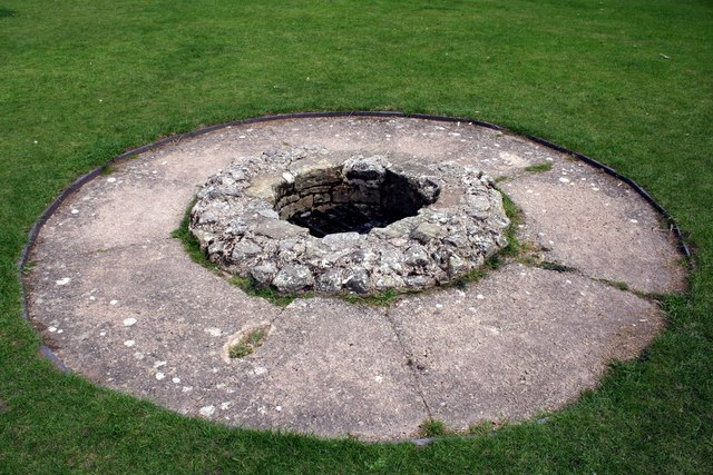 The well at Rhuddlan Castle