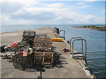 NO4102 : Lower Largo Harbour by Bob Jones