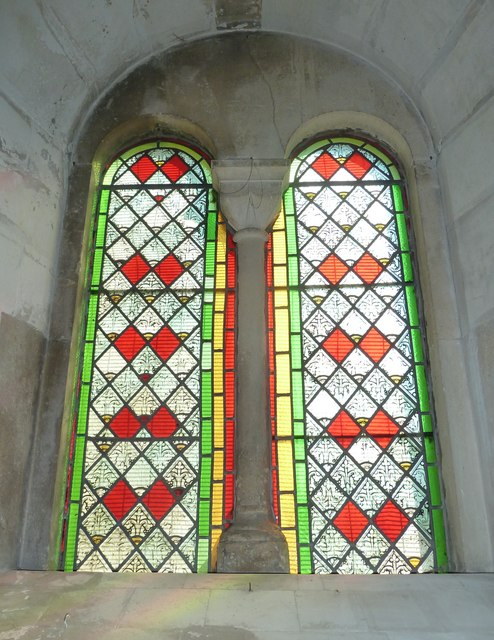 All Saints, Crondall: stained glass window (4)
