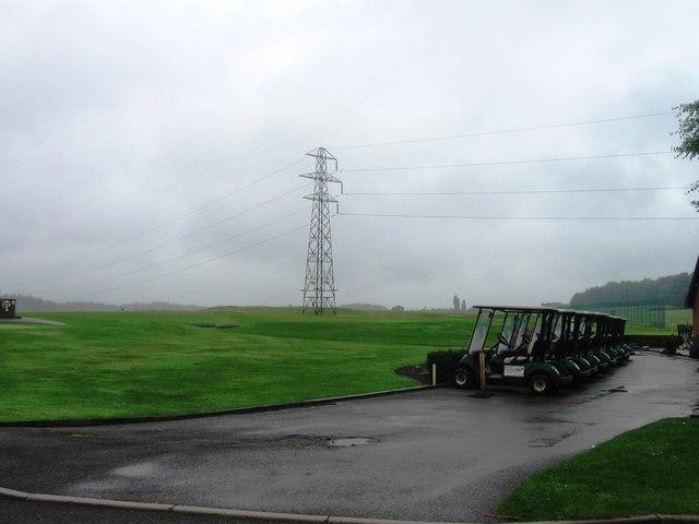 Pylon, Paultons Golf Centre