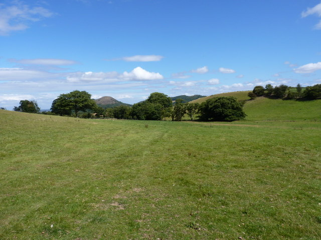View of the Habberley valley