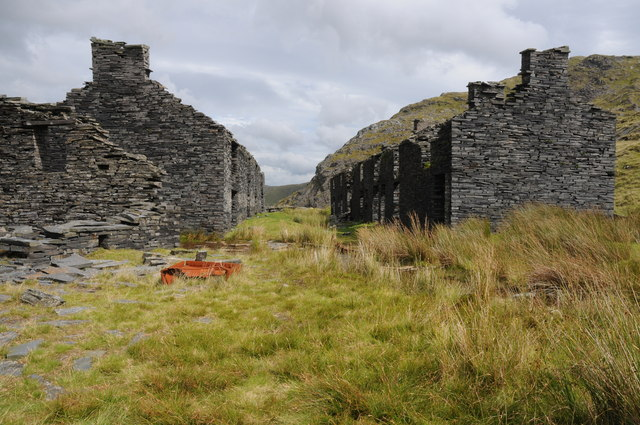 Barracks at Rhosydd Quarry